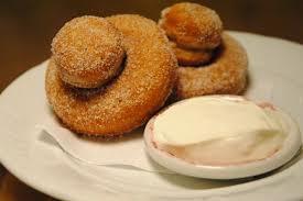 Nutmeg doughnuts