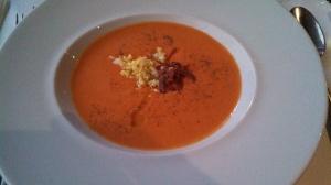Cold Cream of Tomato soup