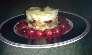 Parmentier à la Dinde Effilochée et Sauce Canneberge