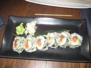 Spicy Salmon Makis